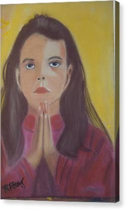 Prayer Time Canvas Print