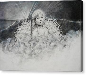 Prayers To An Angel Canvas Print