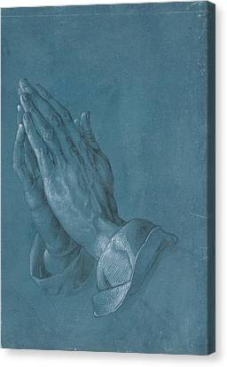 Praying Hands Canvas Print by Albrecht Durer