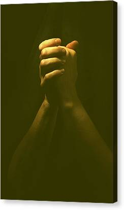 Praying Hands Canvas Print by Bob Pardue