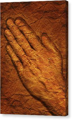 Praying Hands Canvas Print by Don Hammond