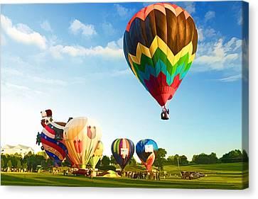 Preakness Balloon Festival Canvas Print by Dana Sohr