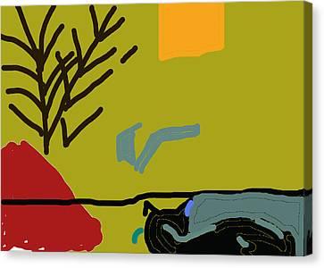Precious Canvas Print by Anita Dale Livaditis