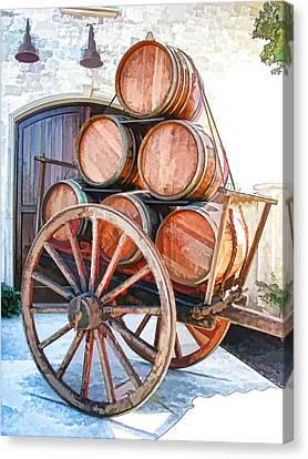 Precious Cargo Canvas Print by Samuel Sheats