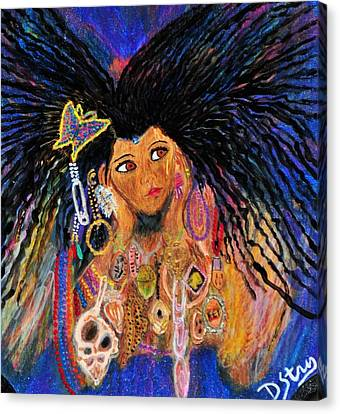 Precious Fairy Child Canvas Print