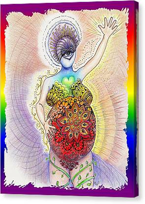 Pregnant Potentials Canvas Print by Melinda DeMent