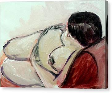 Pregnant01 Canvas Print by Tali Farchi