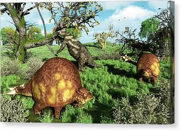 Prehistoric Mammals Canvas Print