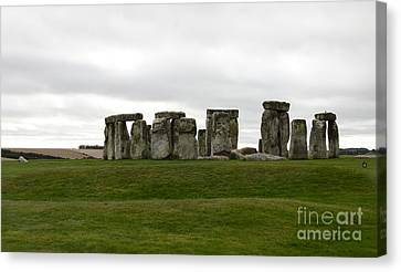 Prehistoric Monument - Stone Henge Canvas Print by Christiane Schulze Art And Photography