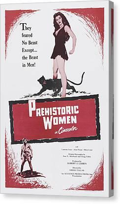 Prehistoric Women, Us Poster Art, 1950 Canvas Print by Everett