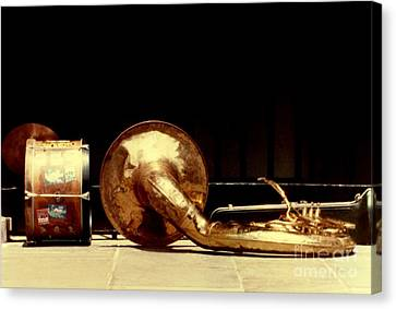 Prelude To New Orleans Jazz Canvas Print by Michael Hoard