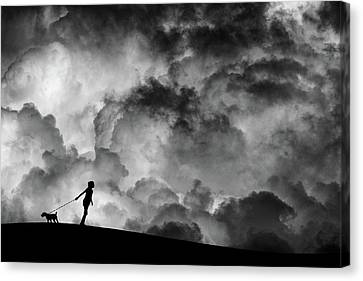 Prelude To The Dream Canvas Print by Hengki Lee