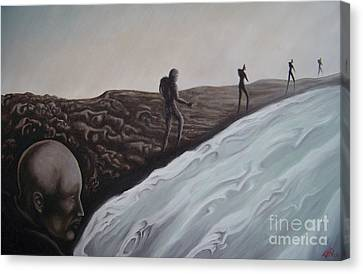 Premonition Canvas Print by Michael  TMAD Finney