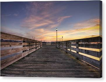 Prescott Park Boardwalk Canvas Print