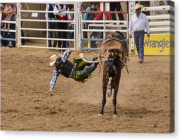 Prescott Rodeo 2014  Canvas Print