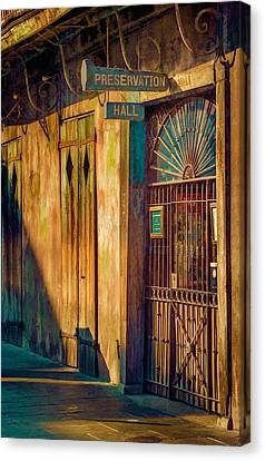 Preservation Hall Canvas Print by Brenda Bryant