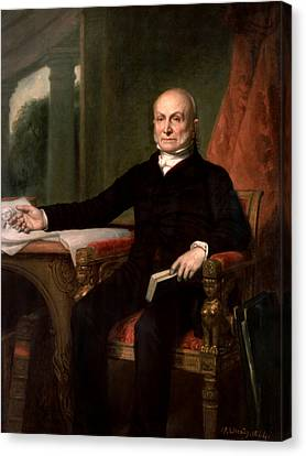 President John Quincy Adams  Canvas Print
