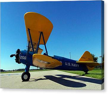 Preston Aviation Stearman 001 Canvas Print
