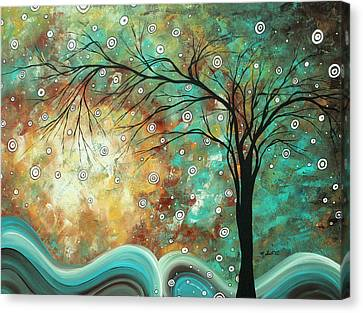 Pretty As A Picture By Madart Canvas Print by Megan Duncanson