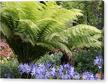 Canvas Print featuring the photograph Pretty Garden by Ivete Basso Photography