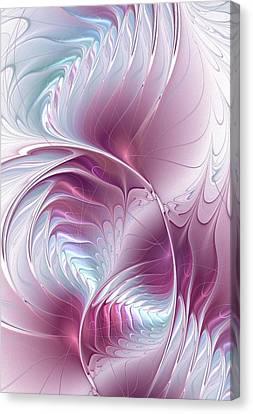 Pretty In Pink Canvas Print by Anastasiya Malakhova