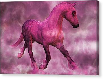 Pretty In Pink Canvas Print by Betsy Knapp