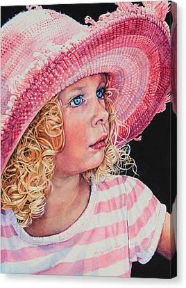 Pretty In Pink Canvas Print by Hanne Lore Koehler