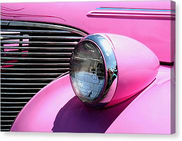 Pretty In Pink Canvas Print by Joe Kozlowski