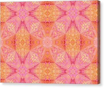 Pretty Pastel Abstract Canvas Print by Georgiana Romanovna