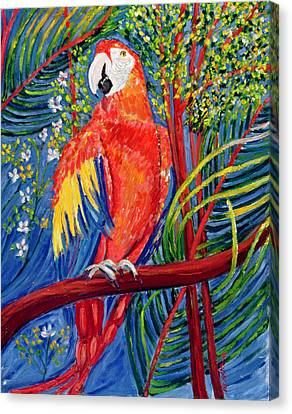 Pretty Polly Canvas Print by Patricia Eyre