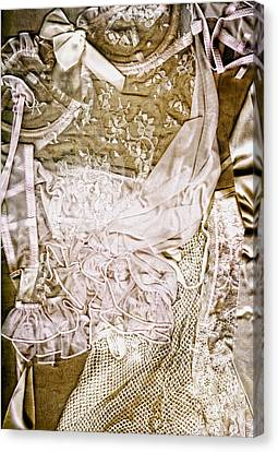 Love Laces Canvas Print - Pretty Things 1 - Lingerie Art By Sharon Cummings by Sharon Cummings