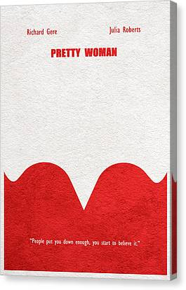 Pretty Woman Canvas Print