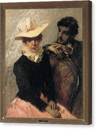 Previati Gaetano, Aurora The Painter Canvas Print by Everett