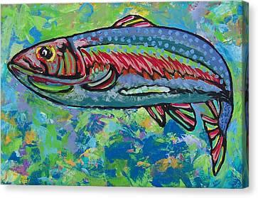 Prey Spotted Canvas Print by Krista Ouellette
