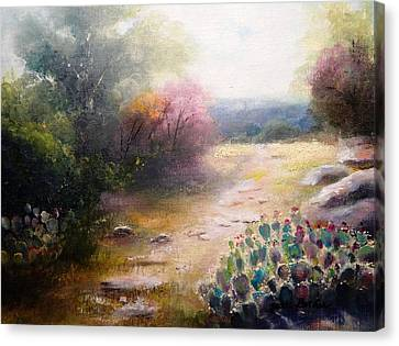 Prickly Pretties Canvas Print