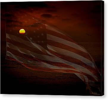 Pride Of Country Canvas Print