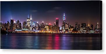 Pride Weekend Panorama Canvas Print by Mihai Andritoiu