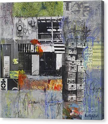 Colorful Paints Canvas Print - Prima Bonanza by Elena Nosyreva