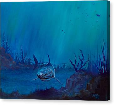 Primal Beauty Canvas Print by C Steele