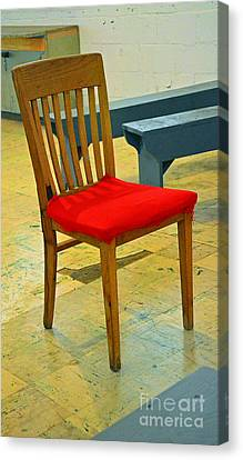 Lino Canvas Print - Primary Colors by Lauren Leigh Hunter Fine Art Photography