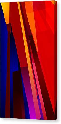 Primary Skyscrappers Canvas Print by James Kramer