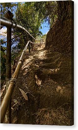 Canvas Print - Primitive Stairway by Mario Legaspi