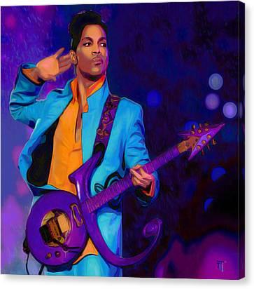 Shirt Canvas Print - Prince 3 by  Fli Art