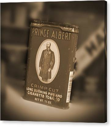 Prince Albert In A Can Canvas Print by Mike McGlothlen