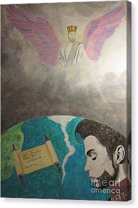 Prince And Prayer Canvas Print
