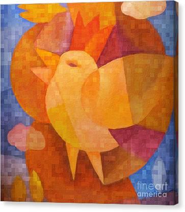 Prince Birdie Canvas Print by Lutz Baar