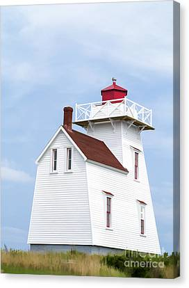 Prince Edward Island Lighthouse Canvas Print
