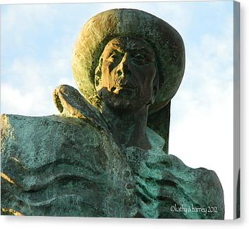 Canvas Print featuring the photograph Prince Henry The Navigator by Kathy Barney