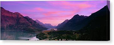 Prince Of Wales Hotel In Waterton Lakes Canvas Print
