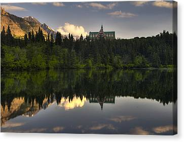 Historic Architecture Canvas Print - Prince Of Wales Reflection by Mark Kiver